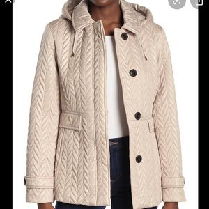 NWT Kate Spade Quilted Outdoor Jacket